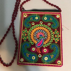 Handbags - Crosbody bag handmade from India